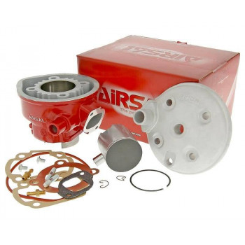 Cylinderkit Airsal Xtrem 69.6cc 47.6mm, 39.2mm til Minarelli LC