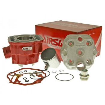 Cylinderkit Airsal Xtrem 88.3cc 50mm, 45mm til Derbi D50B0 2006-