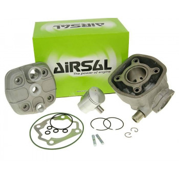 Cylinderkit Airsal sport 50cc 39.9mm, 40mm cast iron til Derbi EBE EBS