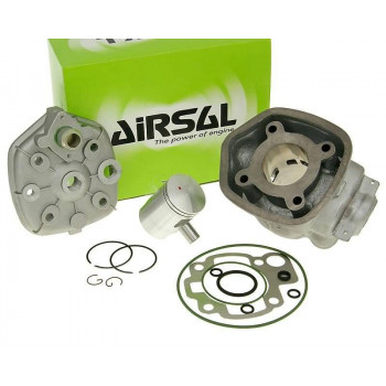 Cylinderkit Airsal sport 49.7cc 40.3mm, 39mm cast iron til Minarelli AM