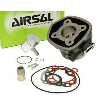 Cylinderkit Airsal sport 49.2cc 40mm, 39.2mm cast iron til Minarelli LC