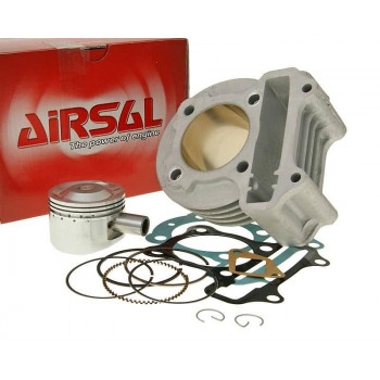 Cylinderkit Airsal sport 81.3cc 50mm til 139QMB, GY6 50cc, Kymco 50 4-stroke