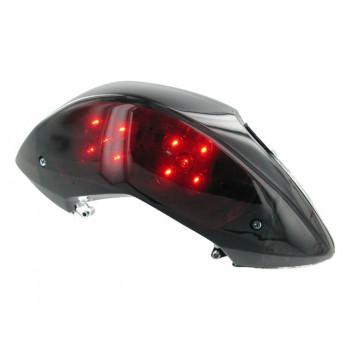 Baglygte STR8 Black-Line LED med blinklys